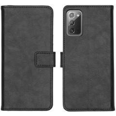 iMoshion Luxe Booktype Samsung Galaxy Note 20 - Zwart