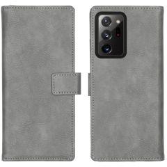iMoshion Luxe Booktype Samsung Galaxy Note 20 Ultra - Grijs
