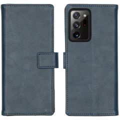 iMoshion Luxe Booktype Samsung Galaxy Note 20 Ultra - Donkerblauw