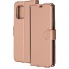 Accezz Wallet Softcase Booktype Samsung Galaxy S10 Lite - Rosé Goud