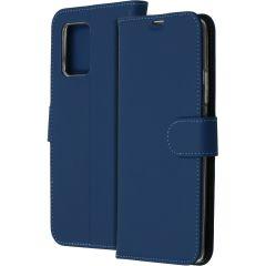 Accezz Wallet Softcase Booktype Samsung Galaxy S10 Lite - Blauw