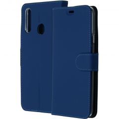 Accezz Wallet Softcase Booktype Samsung Galaxy A20s - Donkerblauw