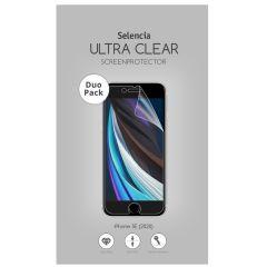 Selencia Duo Pack Screenprotector iPhone SE (2020)