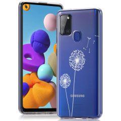 iMoshion Design hoesje Samsung Galaxy A21s - Paardenbloem - Wit