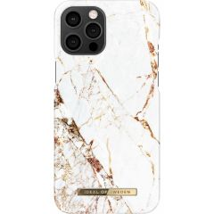 iDeal of Sweden Fashion Backcover iPhone 12 Pro Max - Carrara Gold
