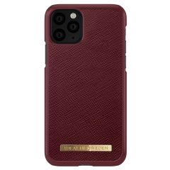 iDeal of Sweden Saffiano Backcover iPhone 11 Pro - Rood