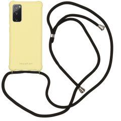 iMoshion Color Backcover met koord Samsung Galaxy S20 FE - Geel