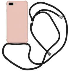 iMoshion Color Backcover met koord iPhone 8 Plus / 7 Plus - Roze