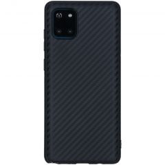 Carbon Softcase Backcover Samsung Galaxy Note 10 Lite