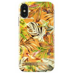 iDeal of Sweden Fashion Backcover iPhone X / Xs - Mango Jungle