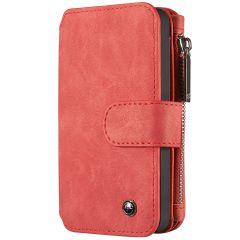 CaseMe Luxe 2 in 1 Portemonnee Booktype iPhone 5 / 5s / SE - Rood