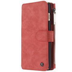 CaseMe Luxe 2 in 1 Portemonnee Booktype iPhone 6 / 6s - Rood