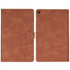 iMoshion Luxe Tablethoes Samsung Galaxy Tab A 10.1 (2019) - Bruin