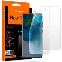 Spigen Neo Flex Screenprotector Duo Pack Samsung Galaxy S20 Plus