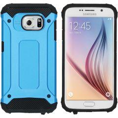iMoshion Rugged Xtreme Backcover Samsung Galaxy S6 - Lichtblauw