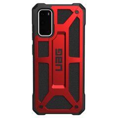 UAG Monarch Backcover Samsung Galaxy S20 - Crimson Red