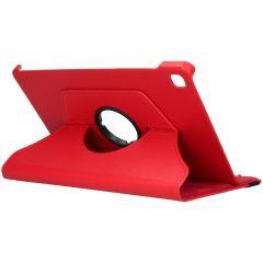 iMoshion 360° draaibare Bookcase Samsung Galaxy Tab S6 Lite - Rood