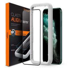 Spigen AlignMaster Full Cover Screenprotector iPhone 11 Pro