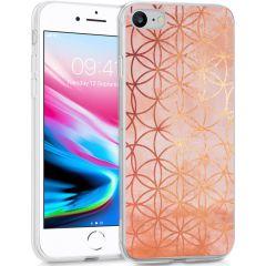 iMoshion Design hoesje iPhone SE (2020) / 8 / 7 / 6s - Ring - Roze