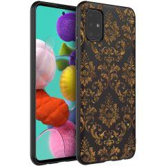 iMoshion Design hoesje Samsung Galaxy A51 - Grafisch - Luxe Goud