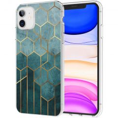 iMoshion Design hoesje iPhone 11 - Patroon - Groen