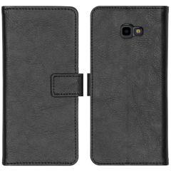 iMoshion Luxe Booktype Samsung Galaxy J4 Plus - Zwart