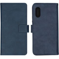 iMoshion Luxe Booktype Samsung Galaxy Xcover Pro - Blauw