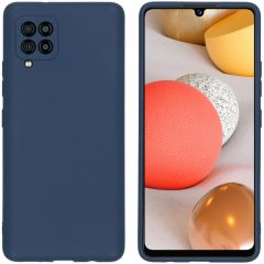 iMoshion Color Backcover Samsung Galaxy A42 - Donkerblauw