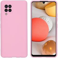 iMoshion Color Backcover Samsung Galaxy A42 - Roze