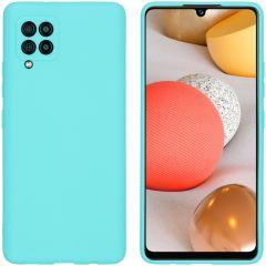 iMoshion Color Backcover Samsung Galaxy A42 - Mintgroen