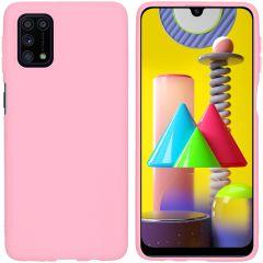 iMoshion Color Backcover Samsung Galaxy M31s - Roze