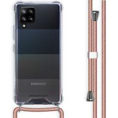 iMoshion Backcover met koord Samsung Galaxy A42 - Rosé Goud