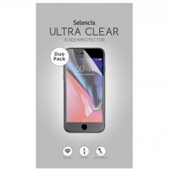 Selencia Duo Pack Ultra Clear protector Galaxy J4 Plus / J6 Plus