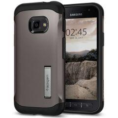Spigen Slim Armor Backcover Samsung Galaxy Xcover 4 / 4S - Grijs