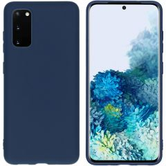 iMoshion Color Backcover Samsung Galaxy S20 - Donkerblauw