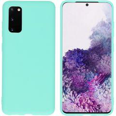 iMoshion Color Backcover Samsung Galaxy S20 - Mintgroen