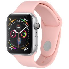 iMoshion Siliconen bandje Apple Watch Series 1 t/m 6 / SE - 42/44mm