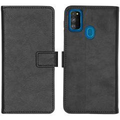 iMoshion Luxe Booktype Samsung Galaxy M30s / M21 - Zwart