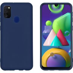 iMoshion Color Backcover Samsung Galaxy M30s / M21 - Donkerblauw