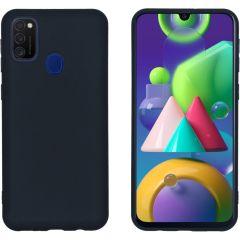 iMoshion Color Backcover Samsung Galaxy M30s / M21 - Zwart