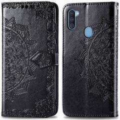 iMoshion Mandala Booktype Samsung Galaxy M11 / A11 - Zwart