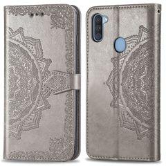 iMoshion Mandala Booktype Samsung Galaxy M11 / A11 - Grijs