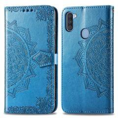 iMoshion Mandala Booktype Samsung Galaxy M11 / A11 - Turquoise