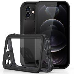 Redpepper Dot Plus Waterproof Backcover iPhone 12 - Zwart