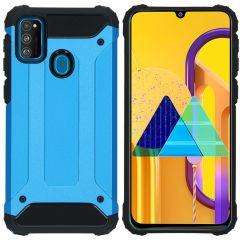 iMoshion Rugged Xtreme Backcover Galaxy M30s / M21 - Lichtblauw