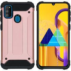 iMoshion Rugged Xtreme Backcover Galaxy M30s / M21 - Rosé Goud
