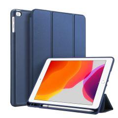 Accezz Smart Silicone Bookcase iPad 10.2 (2019 / 2020) - Blauw
