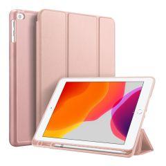 Accezz Smart Silicone Bookcase iPad 10.2 (2019 / 2020) - Rosé Goud