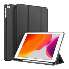Accezz Smart Silicone Bookcase iPad 10.2 (2019 / 2020) - Zwart