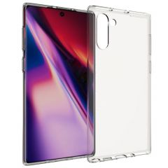 Accezz Clear Backcover Samsung Galaxy Note 10 - Transparant